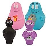 Barbapapa, Coffret Cadeau 4 personnages, Figurines 8 cm (Barbapapa, Barbamama, Barbidul, Barbabel), Jouet pour enfants dès 2 ans, BAP06