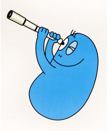 Barbapapa bleu - Barbibul